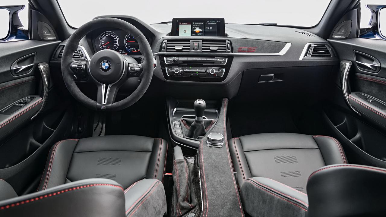 Фото салона BMW M2 CS