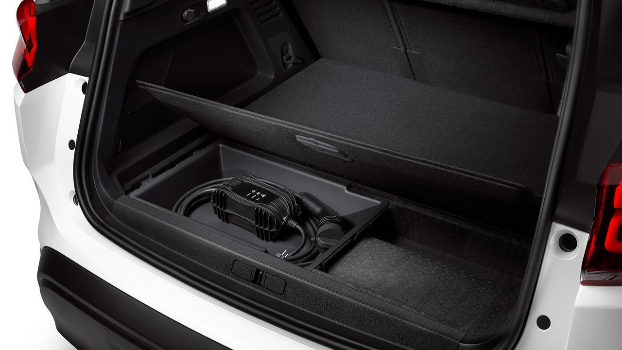 Багажник с отделением для кабеля