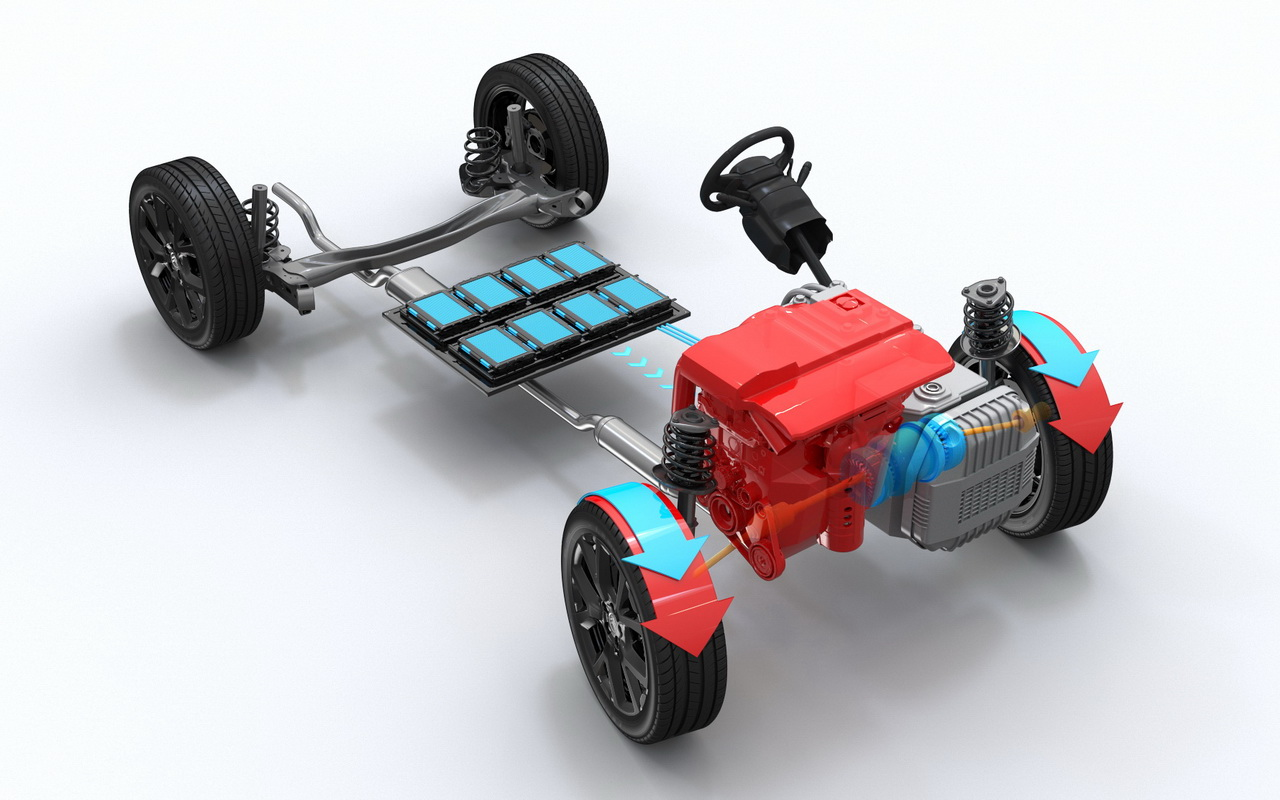 Техника C5 Aircross Hybrid
