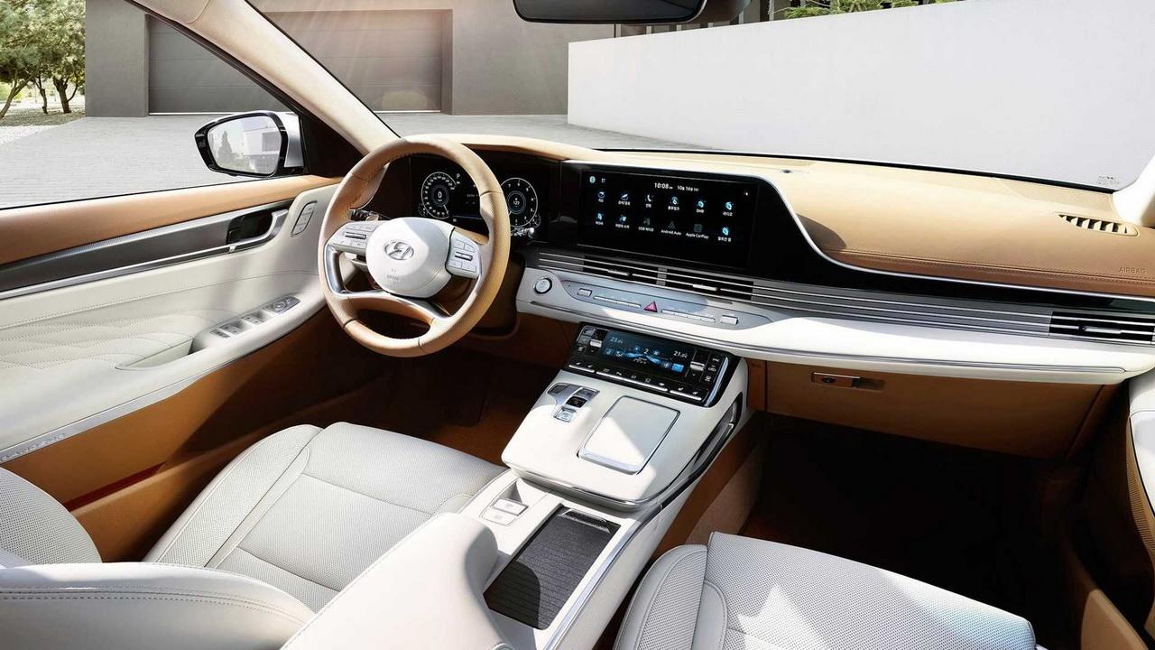 Салон Hyundai Grandeur 6 рестайлинг
