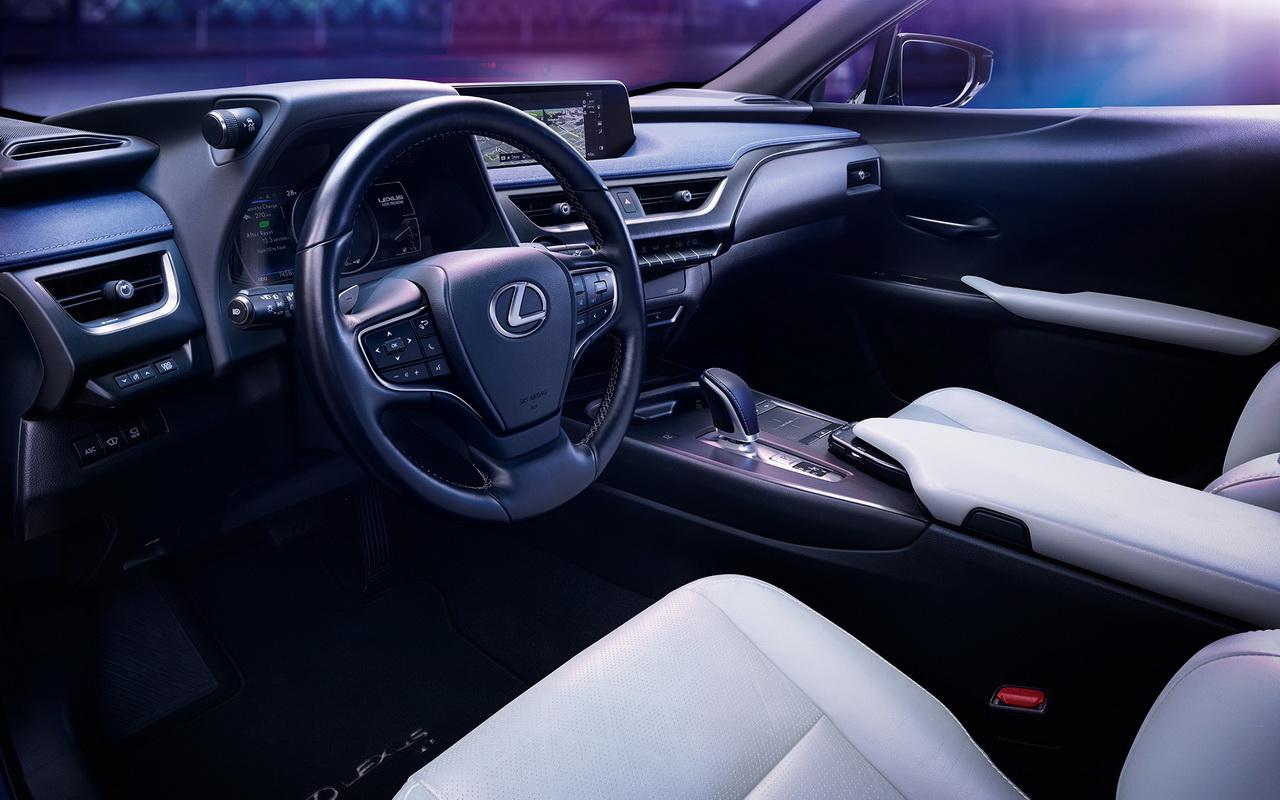 Салон Lexus UX 300e фото
