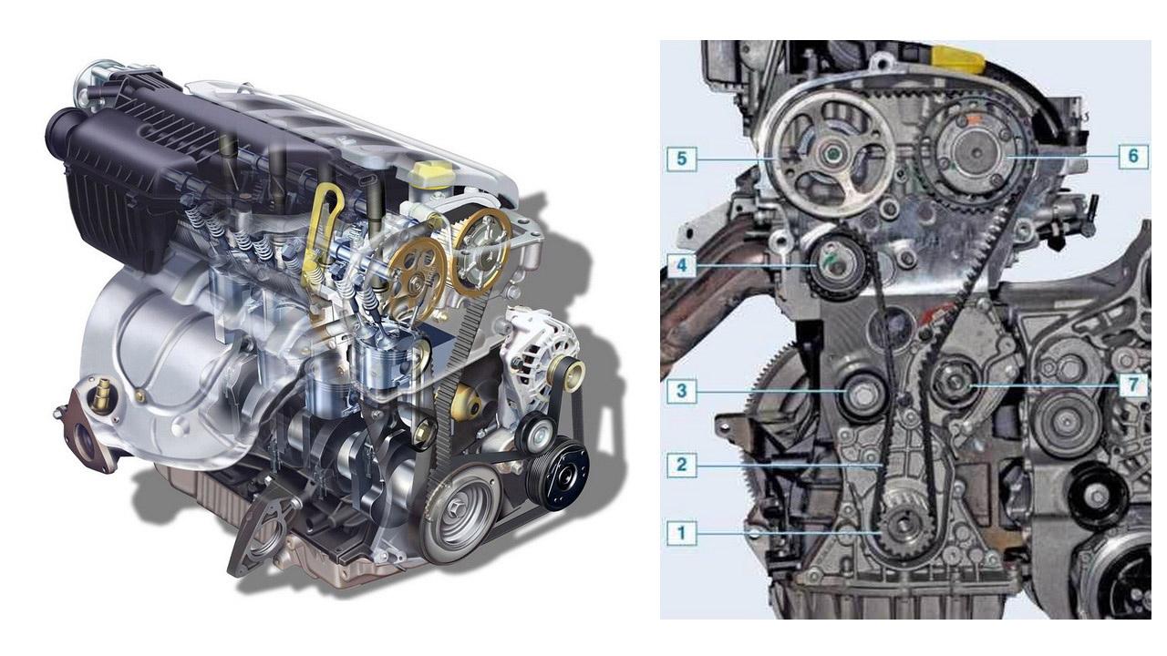 Двигатель Renault F4R 2.0