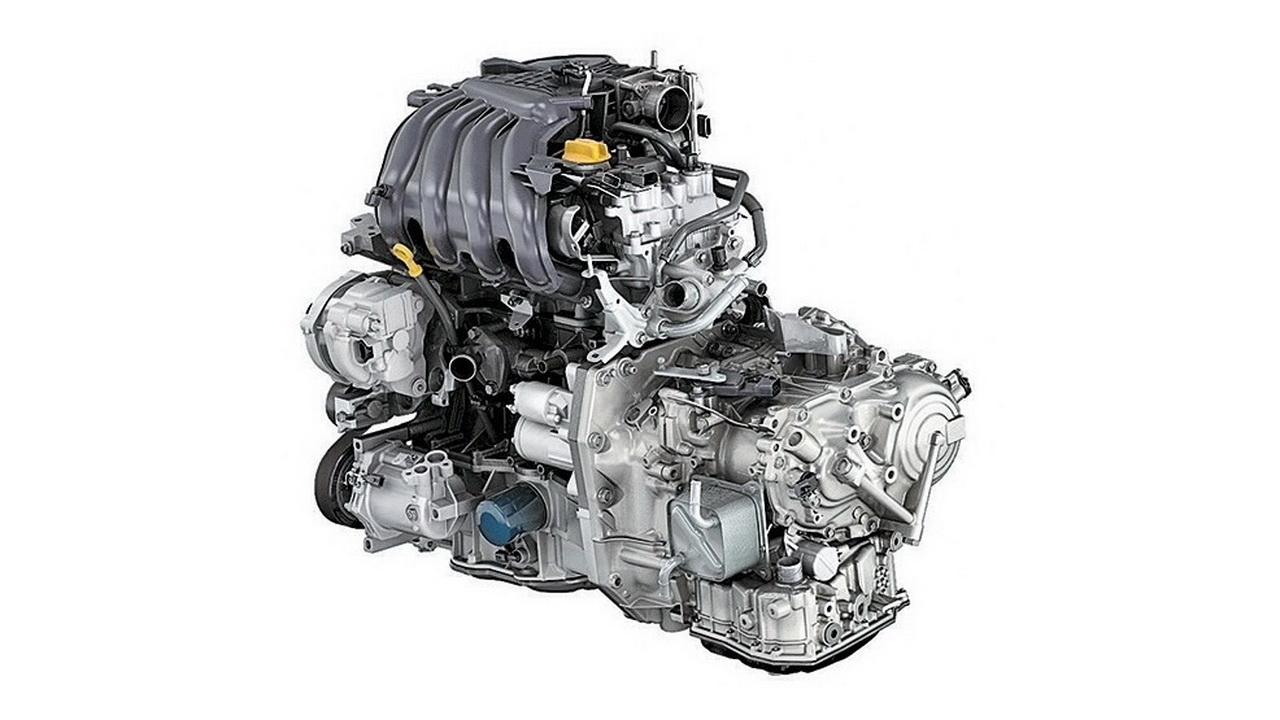 Двигатель Renault H4M с навесным оборудованием