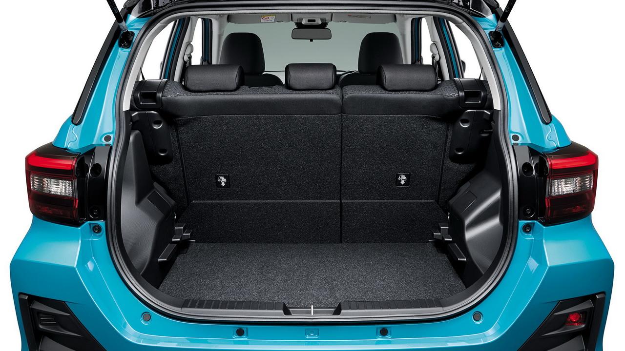 Багажник нового Toyota Raize