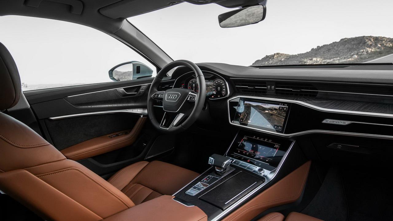 Салон Audi A6 фото