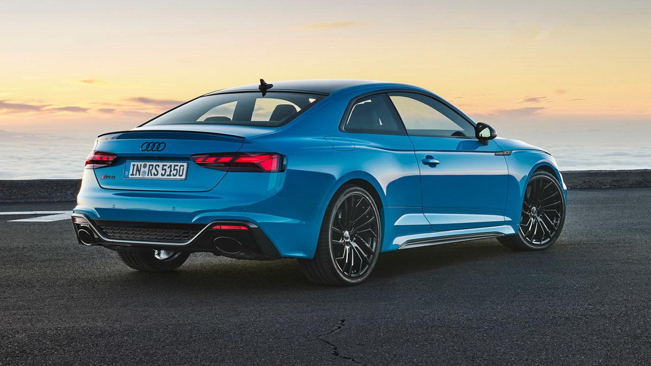 Фото Audi RS 5 купе дизайн кормы