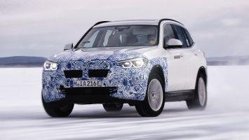Кроссовер BMW iX3 сможет проезжать без подзарядки 440 км