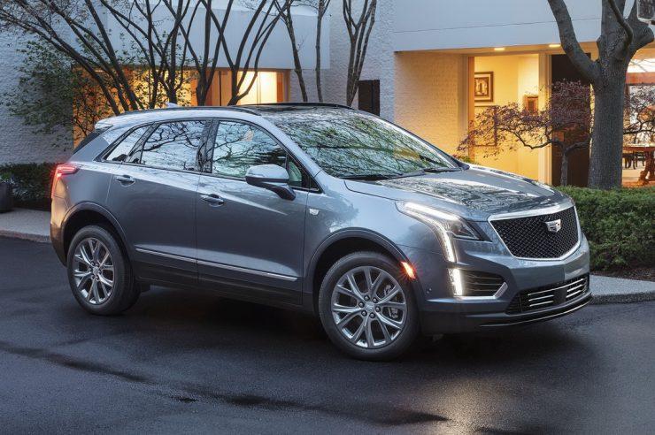 Рестайлинговый Cadillac XT5 получил в России «турбочетверку»