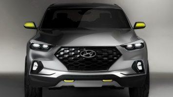 Новый пикап Hyundai Santa Cruz запечатлен в камуфляже