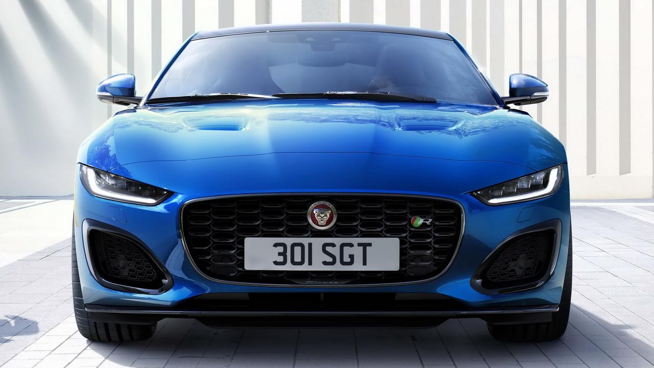 Фото Jaguar F-Type вид спереди