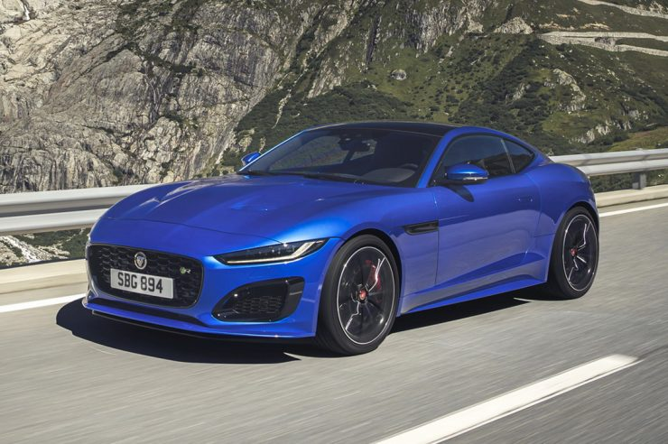 Jaguar F-Type 2020