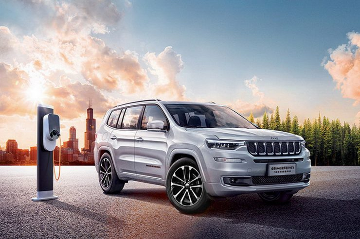 Гибрид Jeep Commander PHEV поступил в продажу на китайском рынке