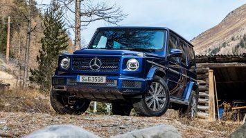 Новый Mercedes G350d в России: объявлены цены
