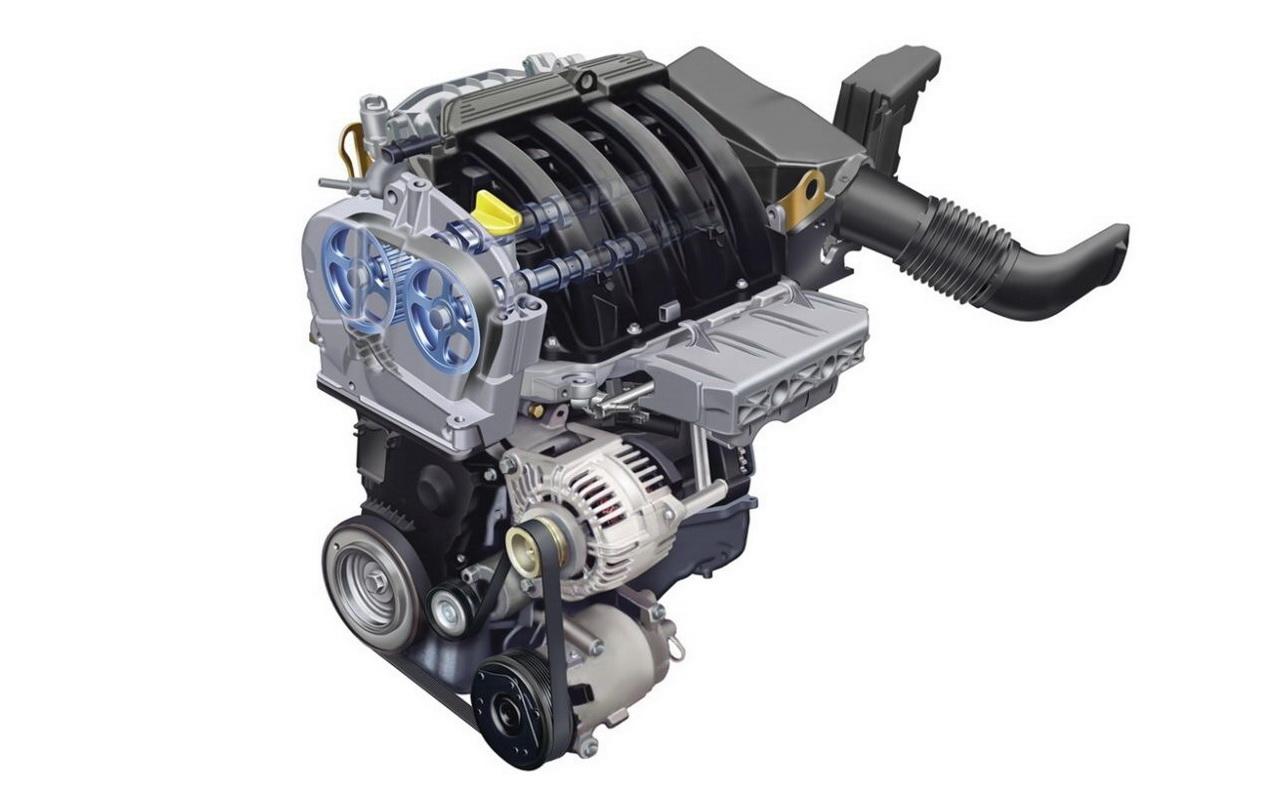 Двигатель K4M фото