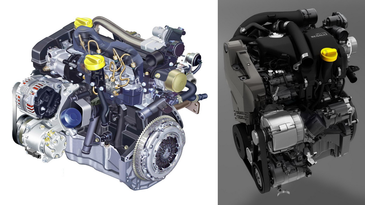 Фото двигателя Рено К9К 1.5 литра