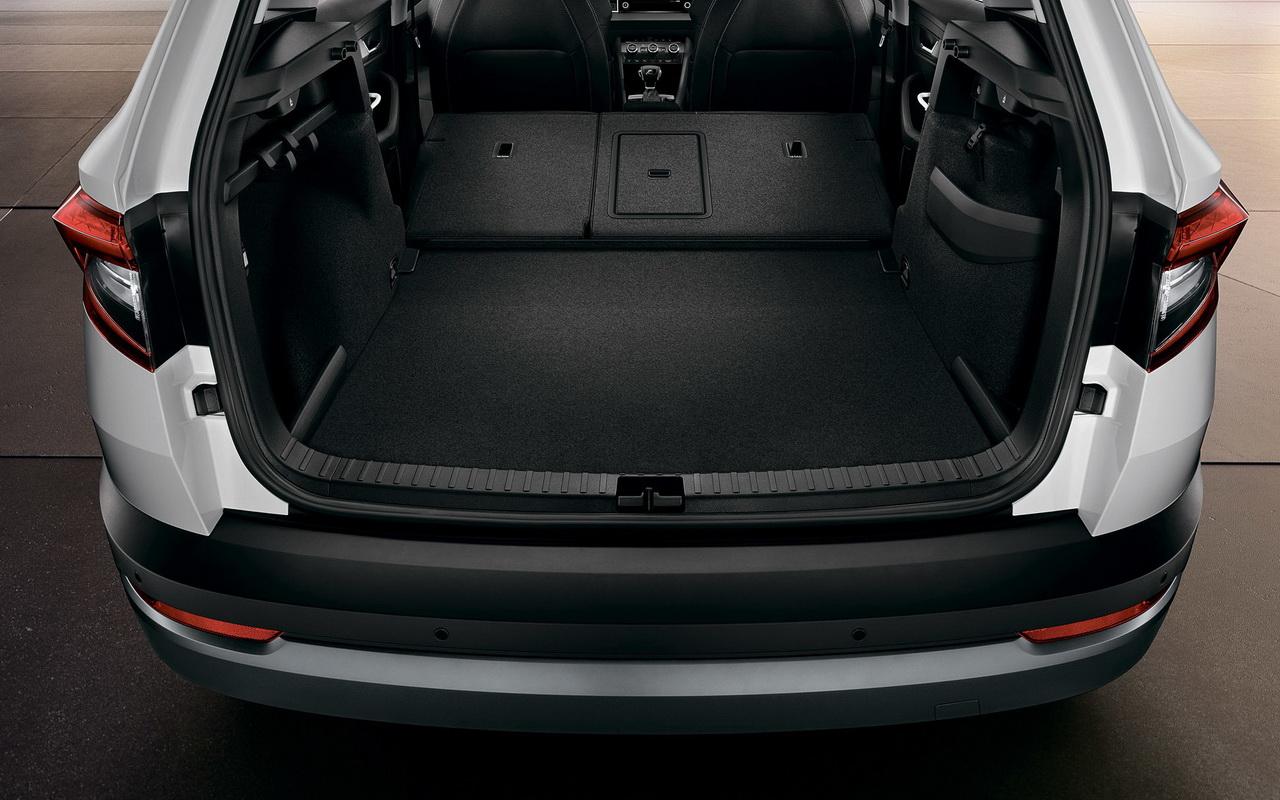 Багажник Skoda Karoq фото