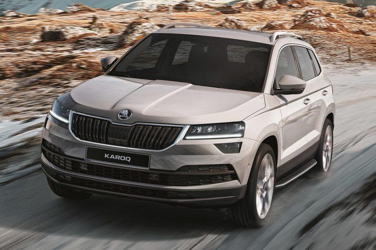 Skoda Karoq 2020: старт продаж и цена в России