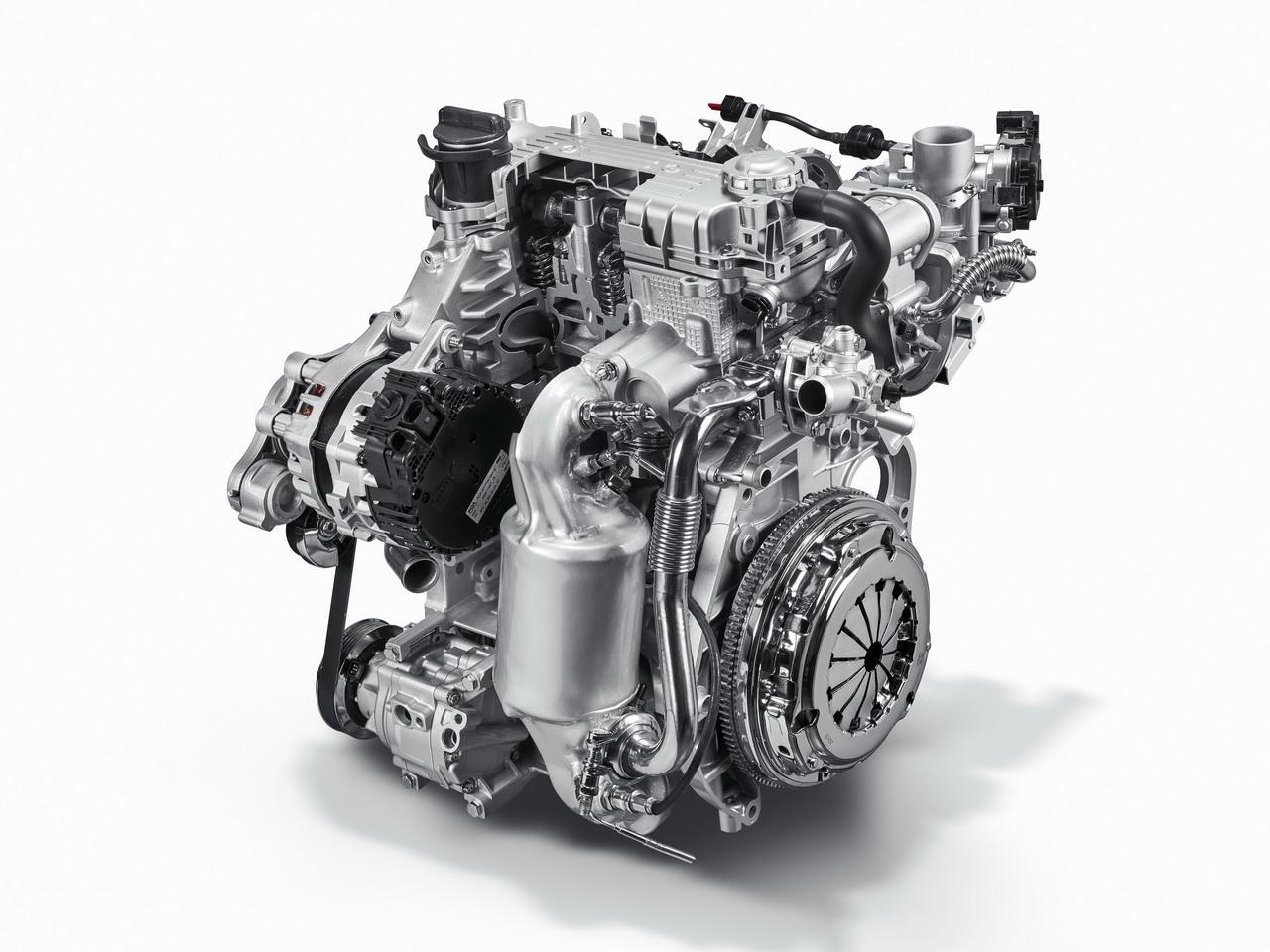 Двигатель системы Mild Hybrid