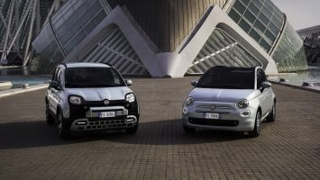 Модели Fiat 500 и Fiat Panda обзавелись гибридной установкой