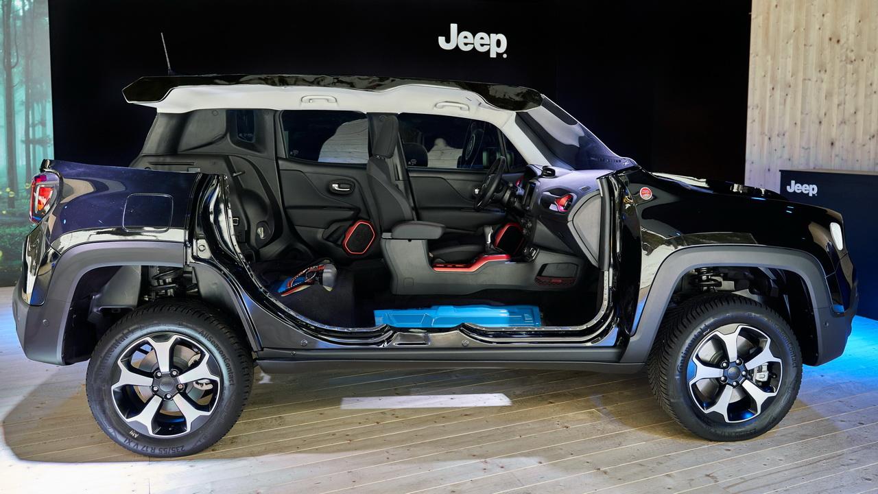 Техника новых гибридов Jeep