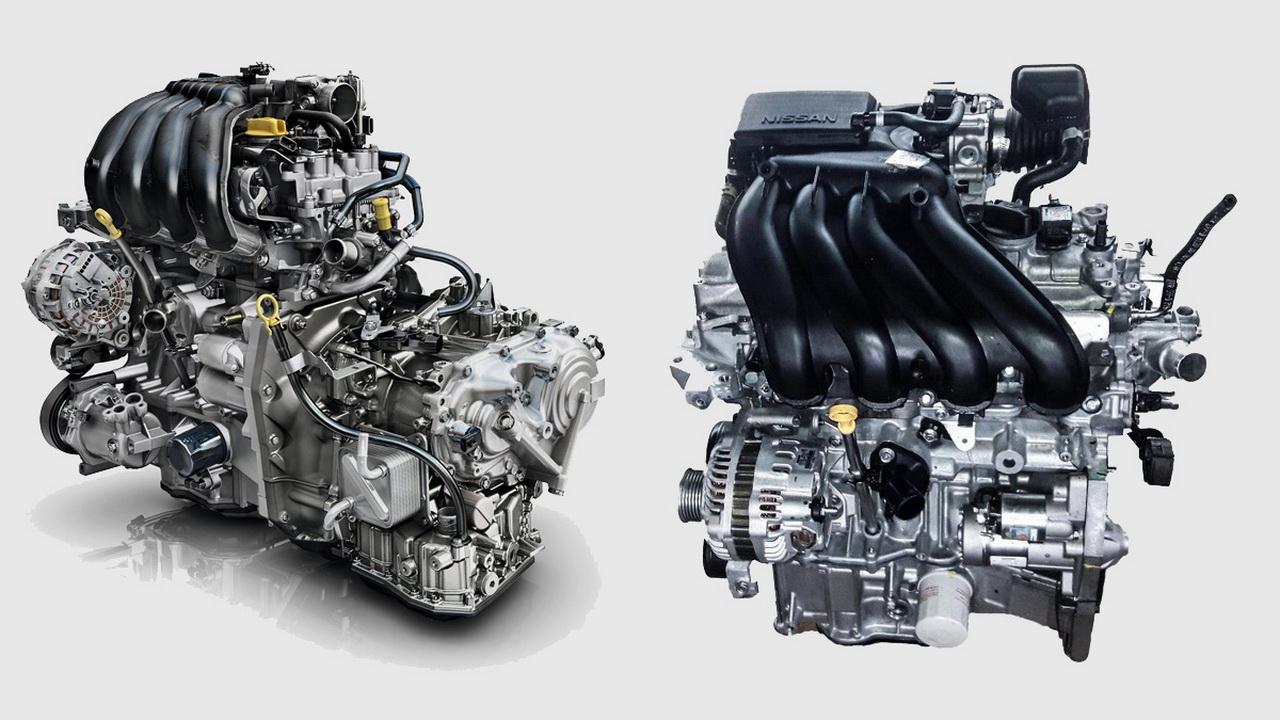 Двигатель HR16DE фото