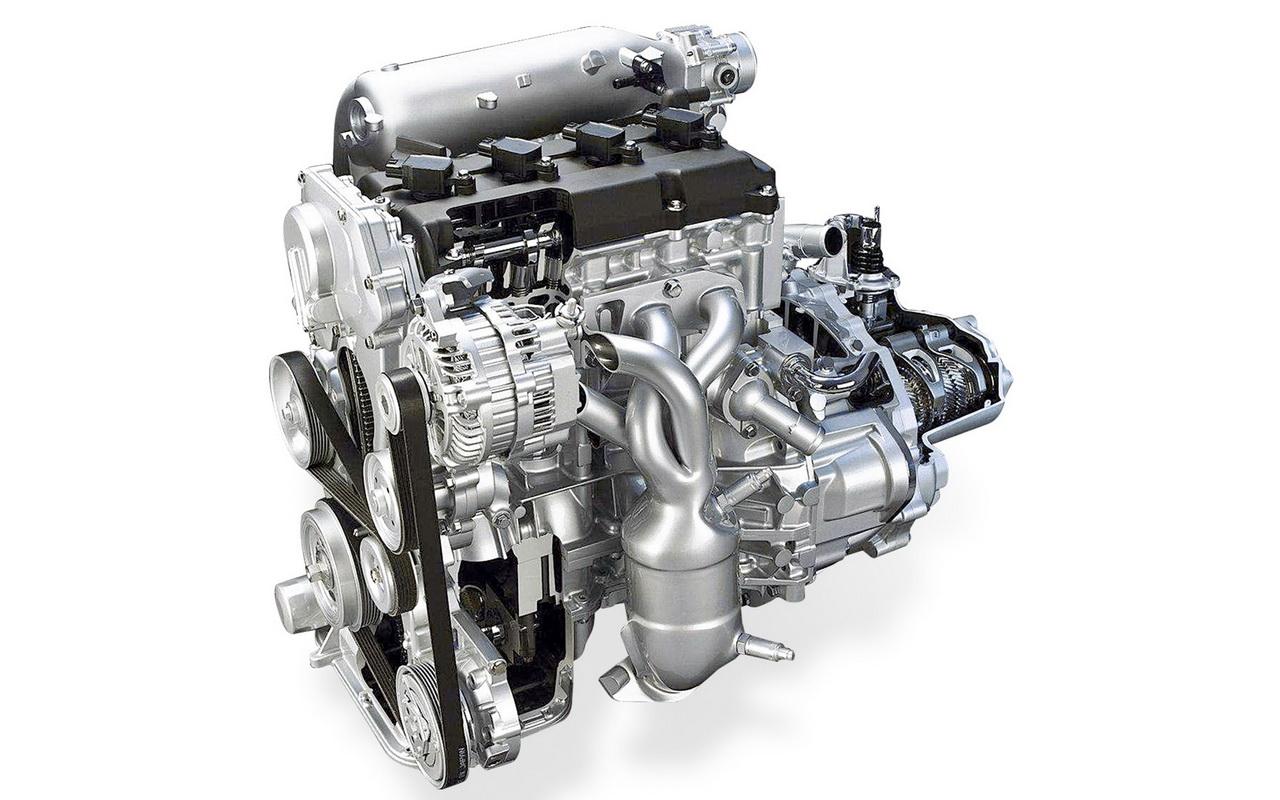 Фото двигателя QR25DE