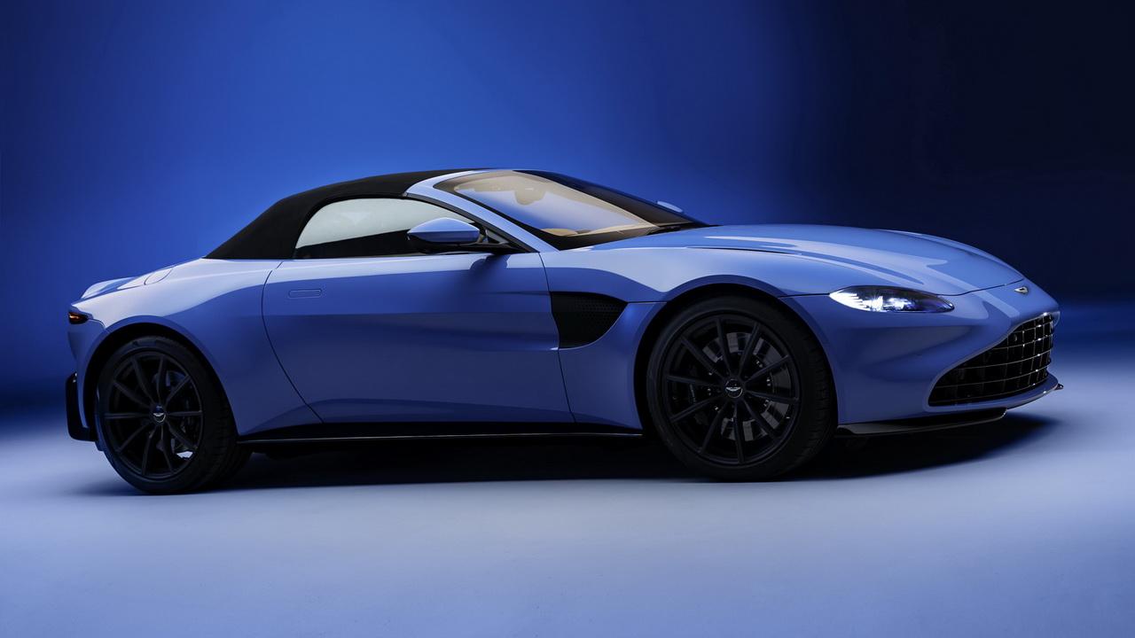 Фото родстера Aston Martin Vantage 2020