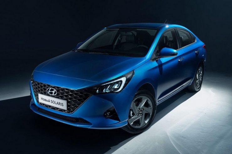 Hyundai Solaris 2020 для России: фото новой модели