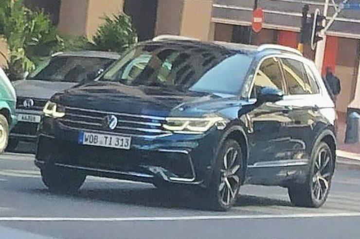 Новый Volkswagen Tiguan 2021 засветился на фото до премьеры