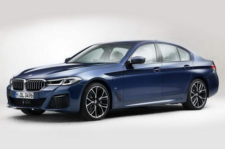 Фото седана BMW 5 серии 2021 обнародованы в сети до премьеры