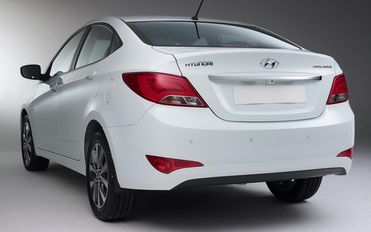 Задние фонари Hyundai Solaris