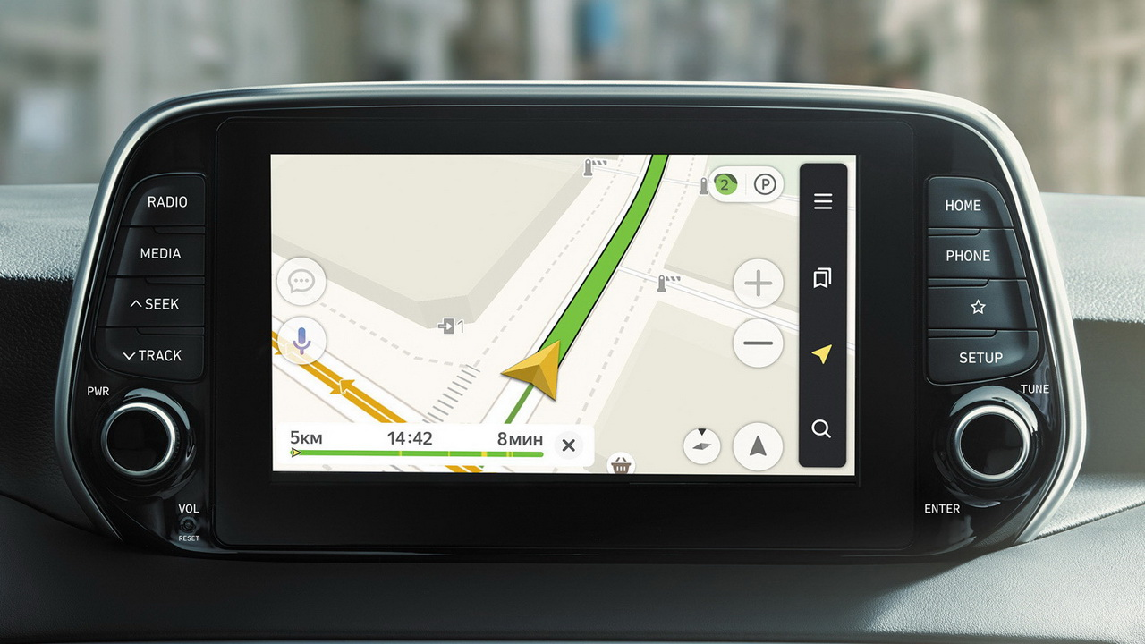 Мультимедиа-система Яндекс.Авто