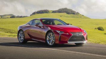 Lexus LC 2021: новые настройки шасси и мультимедиа с Android Auto