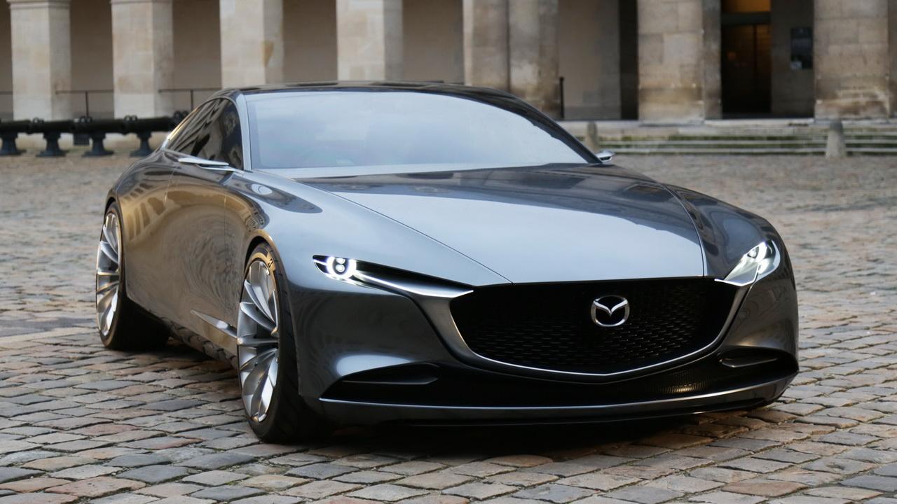 Фото прототипа Mazda Vision Coupe