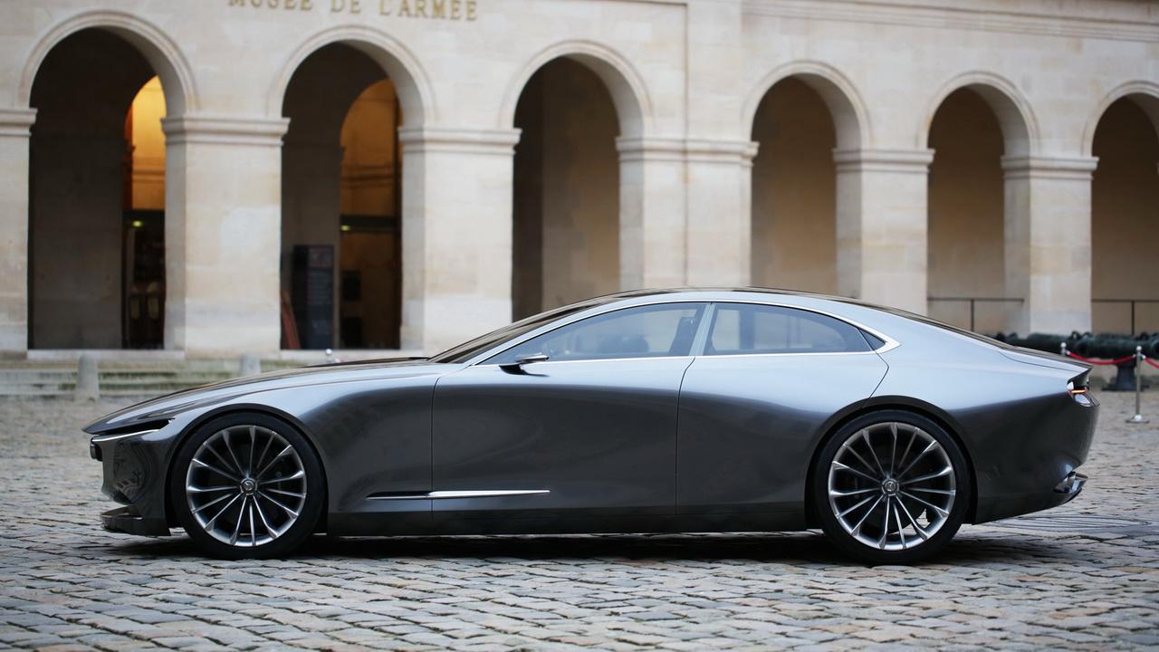 Профиль концепта Mazda Vision Coupe