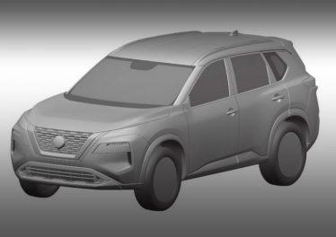 Новый Nissan X-Trail 2020 показался на патентных изображениях