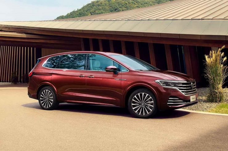 Volkswagen Viloran 2020: новый роскошный минивэн от Фольксваген