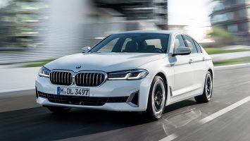 BMW 5-Series 2021: плановый рестайлинг «пятерки» G30
