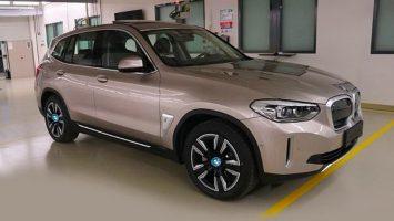 Электрокар BMW iX3: новые данные перед премьерой