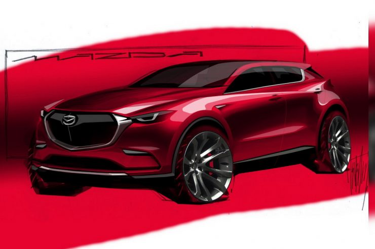 Модель Mazda CX-50 в 2022 году придет на смену Mazda CX-5