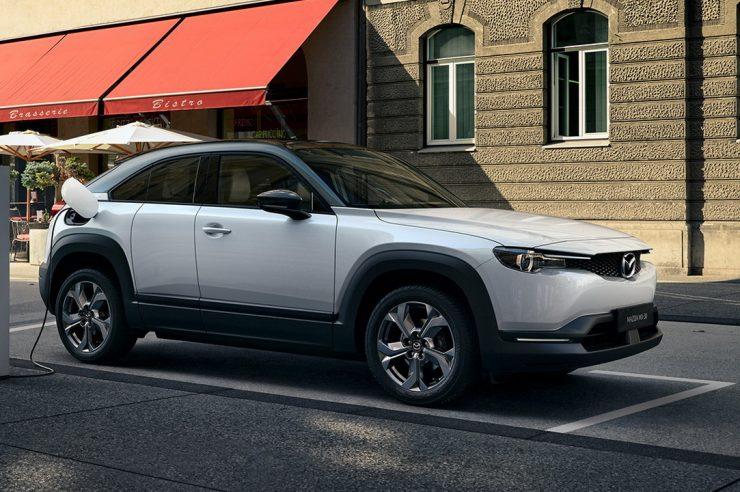 Производство электрокара Mazda MX-30 стартовало в Японии