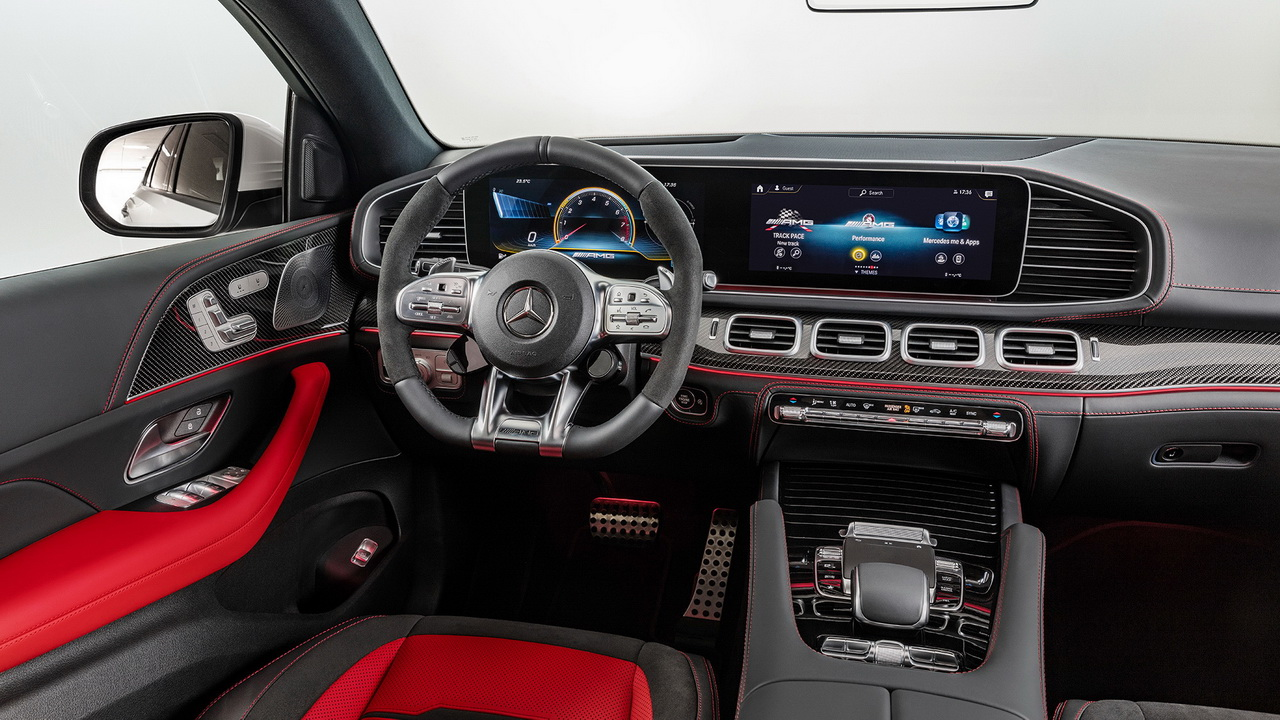 Фото салона Mercedes-AMG GLE 53 Coupe