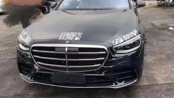 Новый Mercedes S-Class W223: фото модели без маскировки