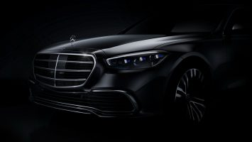 Новый Mercedes S-Class: фото-тизер от концерна Daimler