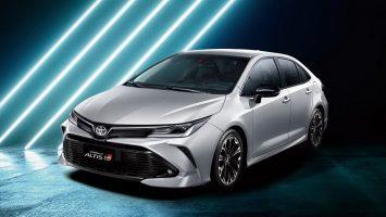 Toyota Corolla Altis GR Sport 2020: седан Королла с нотками спорта