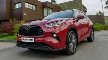 Тойота Хайлендер 2020: старт продаж в России запланирован на лето
