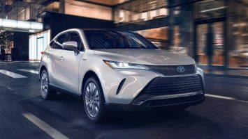 Toyota Venza 2021: новый кроссовер чуть крупнее RAV4