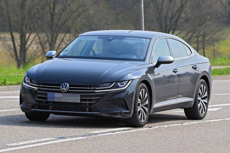 Новый Volkswagen Arteon 2021 проходит дорожные испытания