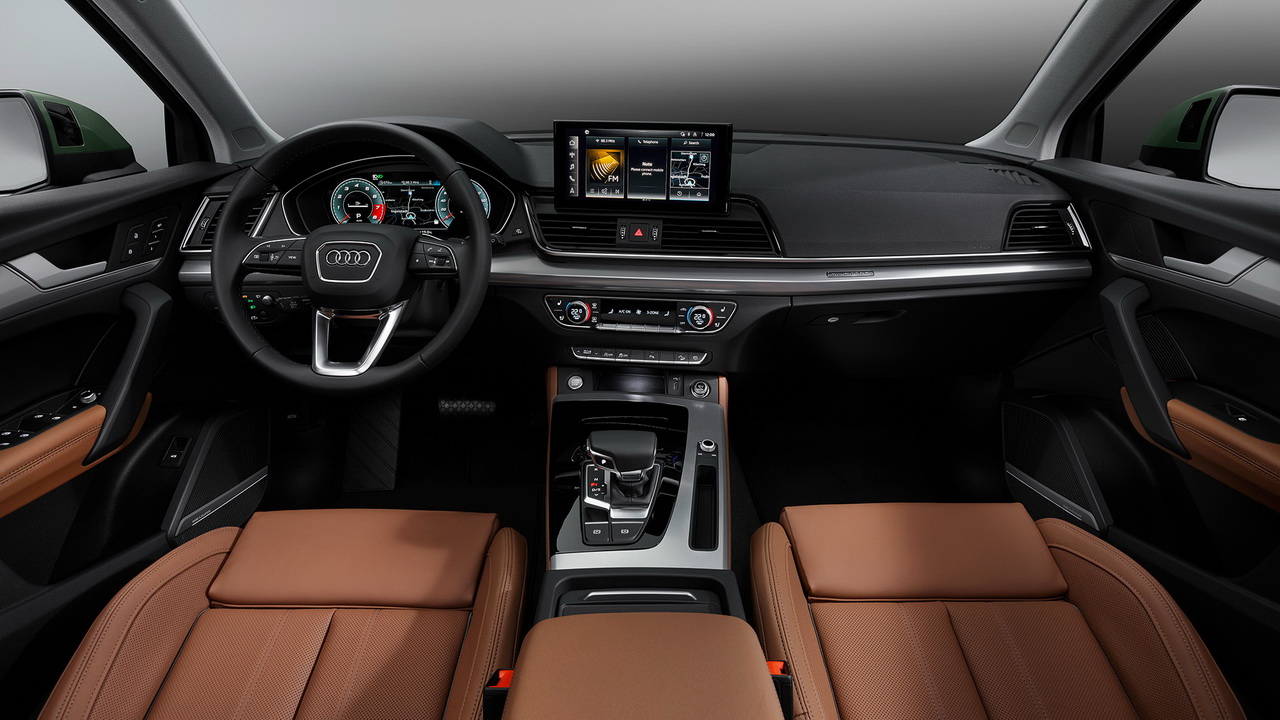 Фото салона Audi Q5 2020 рестайлинг