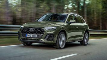 Новый Audi Q5 2021: органические диоды и гибридные надстройки